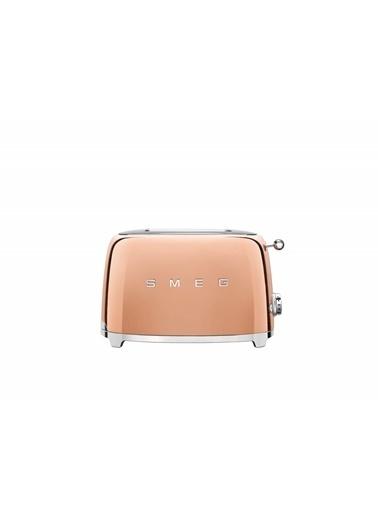 Smeg Rose Gold Ekmek Kızartma Makinesi 2X2 Pudra